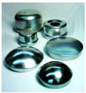 "Grease Cap Drive In For Agricultural Hubs, 1.957"" O.D."